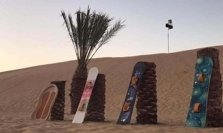 Evening Desert Safari Bus Pickup Abu Dhabi