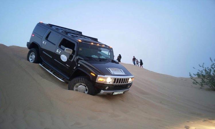 Hummer Desert Safari Abu Dhabi