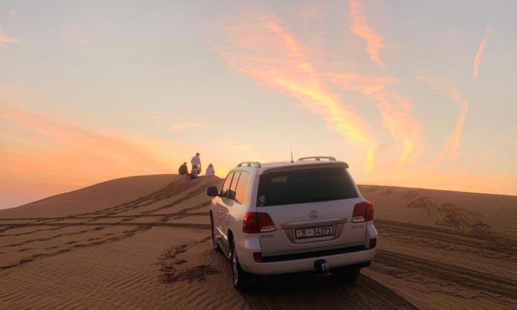 Morning Desert Safari Abu Dhabi