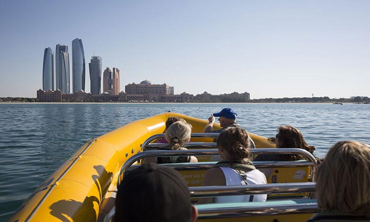 Yellow Boat Tour Abu Dhabi